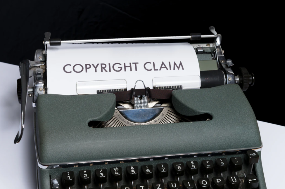 An example of copyright claim vs copyright strike