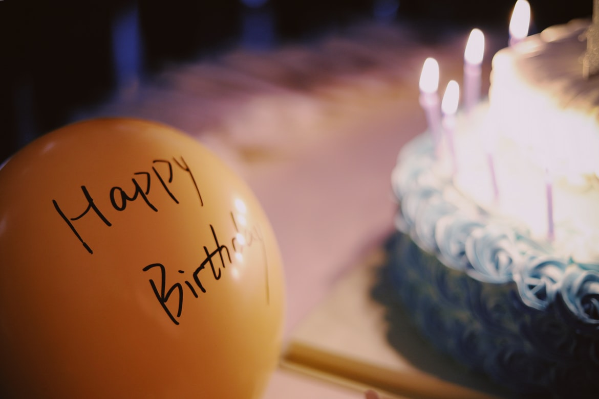 Balloons for the Best birthday video makers online